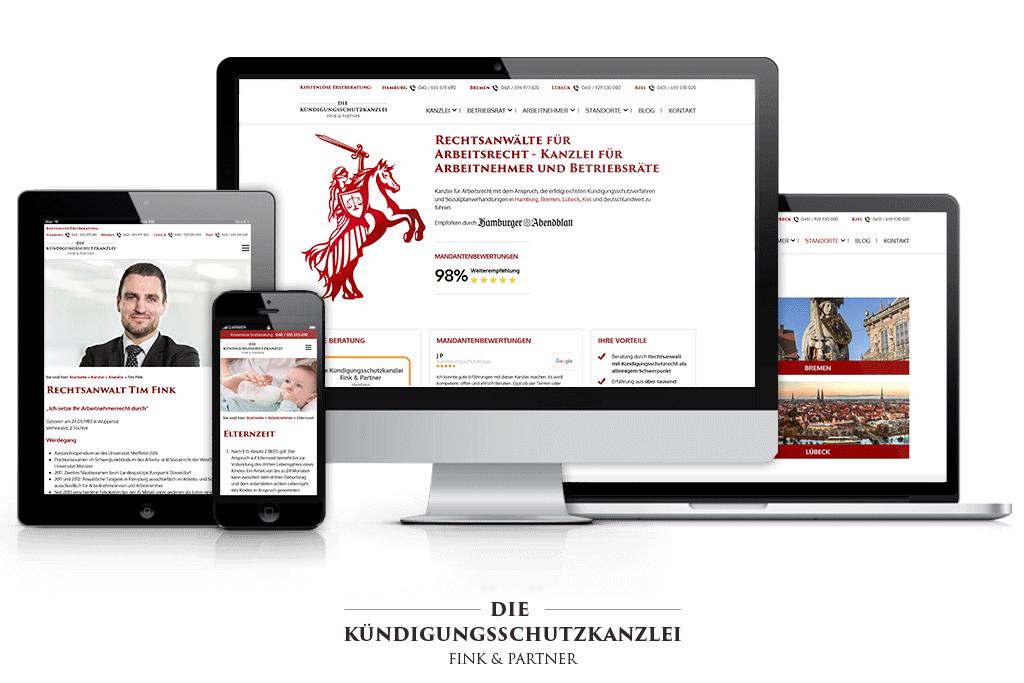 Die Kündigungsschutzkanzlei Fink & Partner